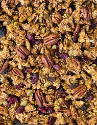 Pumpkin Flaxseed Granola Nutrition by Pumpkin Granola