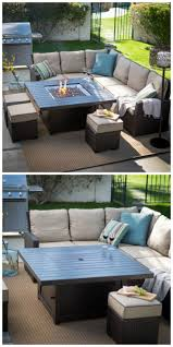 Patio Conversation Sets With Fire Pit by Best 25 Fire Pit Table Ideas On Pinterest Diy Grill Outdoor