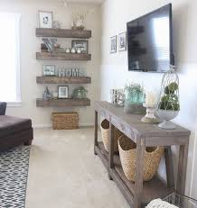 Living Room Ideas Floating Shelves