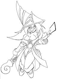 Yu Gi Oh Coloring Pages 53