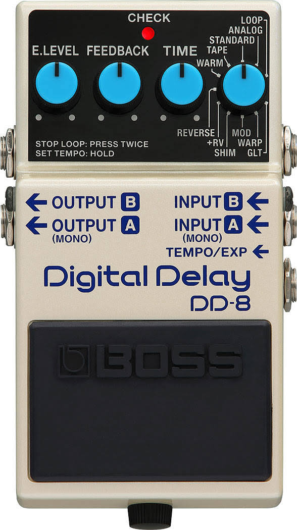 BOSS DD-8 Digital Delay Pedal - for Electric Guitars