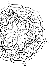 Coloring Book For Me And Mandala Download Gorgeous Free Printable Adult Pages Page
