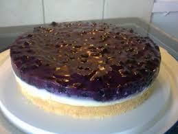 schneller heidelbeer pudding kuchen