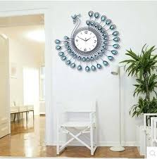 homey ideas living room wall clocks all dining clock