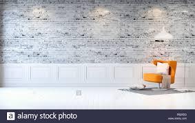moderne loft innenraum wohnzimmer weißes holz bodenbeläge