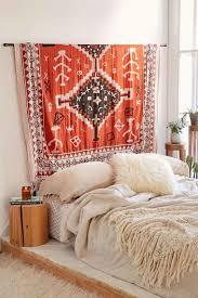 tapis a faire soi meme tête de lit originale à faire soi même 24 projets déco diy