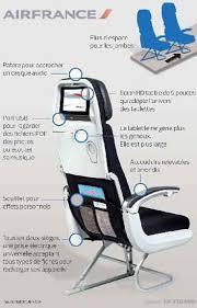 siege avion air air dévoile fauteuil high tech