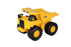 Toy State Caterpillar 18 Inch Push Powered Big Rev It Up Dump Truck ...