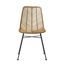 chaises en osier bloomingville living and co