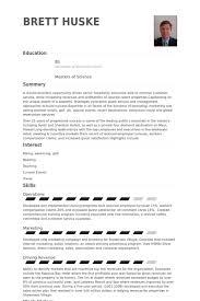 Public Relation Executive Resume Unique Gm Samples Visualcv Database