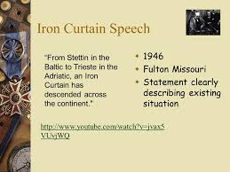 Iron Curtain Speech 1946 Definition by Mr Thomas Sothars De Smet Jesuit Hs Ppt Download