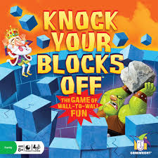 Blokus Knock Your Blocks Off Loony Quest Board Game