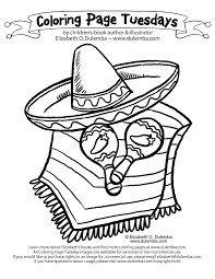 Excellent Mexican Coloring Pages Book Design For KIDS