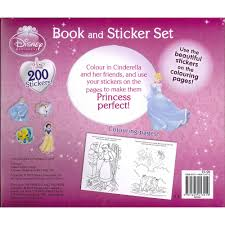 Disney Bath Sets Uk by Disney Princess Sticker Activity Book Set By Anon Sticker Books