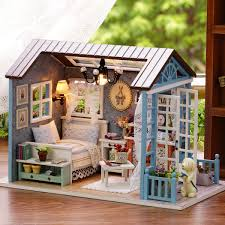 Super Joy Doll House Folding Dollhouse With Furniture Including 70 Accessories To Create Up To 8 Scenes Portable Dolls House Playset With Latch