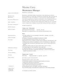 Facility Maintenance Supervisor Resume Sample Related Post