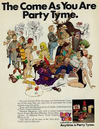 Vintage 1971 Liquor Ad Party Tyme Cocktail Mixes The Co