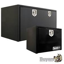 Buyers Steel Underbody Black Tool Boxes | Truck N Tow.com | Storage ...