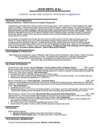 A Professional Resume Template For Regional Sales Manager Want It Download Now