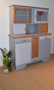 buffet de cuisine gris buffet de cuisine vintage ée 60 avec nouvelle poignet en couleur