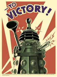 Dr Who Dalek Christmas Tree by Gift Search Doctor Who Dalek To Victory Poster