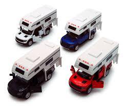 100 Ford Toy Trucks 12 Kinsmart F150 Raptor Super Crew Diecast WCampers In