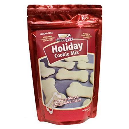 Puppy Cake Holiday Cookie Mix (Wheat Free)