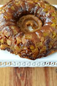This Apple Upside Down Cake recipe is packed with brown sugar fresh apples butter