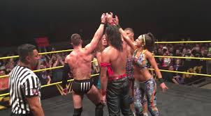 nxt s main eventers had their own curtain call before the wwe draft