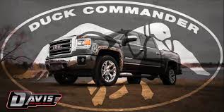 Duck Commander GFX 2014 GMC Sierra At Davis GMC Buick Lethbridge ... Willies Food Truck Park Joins Duck Dynasty Family Of Attractions Dub Magazine Willie Robertson The Truck Commander Photo By Dpowell1 From Seveca Sc Commander Ccfr February 14 2013 Deer Hunting Duck Buck Vanity License Plate Car Chevy Silverado By Skyjacker West Monroe La The Lundy 5 La Pinterest Dynasty And Decals For Trucks Oregon Ducks Combat Decal Window