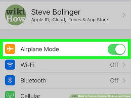 How to Turn on Airplane Mode on an iPhone 4 Steps with