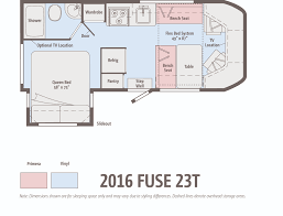 Coachmen Class C Motorhome Floor Plans by The Winnebago Fuse Ignites Winnebagolife