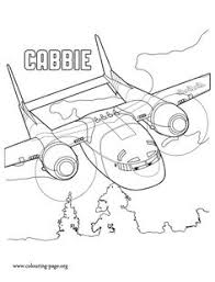 Cabbie Is An Ex Military Transport Plane And A Character In The Upcoming Planes 2