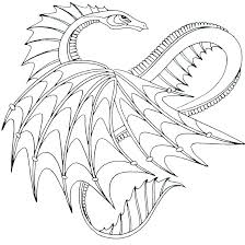 Coloring Pages Dragons Realistic Luxury 1682080