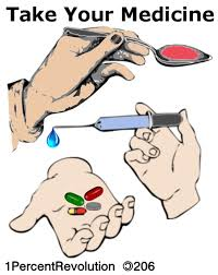take your medicine clipart