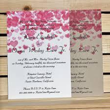 Valentines Day Celebration Wedding Invitation Two Versions
