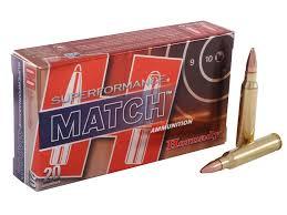 Hornady Superformance Match Ammo 5 56x45mm NATO 75 Grain MPN