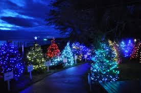 places to see lights and displays in and around