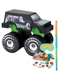 Amazon.com: BirthdayExpress Monster Jam Party Supplies - Pinata Kit ... An Eventful Party Monster Truck 5th Birthday Possibilities Mr Vs 3rd Part Ii The Fun And Cake Jam Ultimate Pack Birthdays Pinterest John Deere Tractor Rolling Sinsweets After Dark Rentals For Rent Display Ideas At In A Box Shortcut 4 Steps Room Theme Monster Truck Grave Digger Bed From Real Parties Modern Hostess Supplies Cool Birthday Party Ideas Youtube Cre8tive Designs Inc