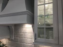 backsplash is oversized subway tiles in real italian marble