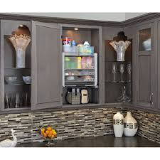 Wayfair Kitchen Cabinet Pulls by Cabinet Pull Down Shelving Rev A Shelf Universal Wall Cabinet