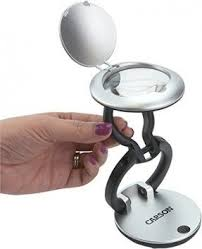 Lighted Magnifier Desk Lamp by Portable Magnifier Lamp Foter