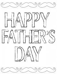 Happy Fathers Day Color In Printable At TheDIYvillage