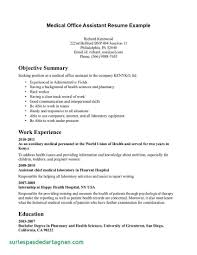 Resume Templates Medical Assistant Examples No Experience Shalomhouse Lovely Of Administrative Cover Letter With
