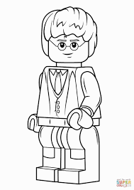 Lego Robin Coloring Pages Erieairfair