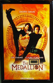 100 The Medalian Medallion Signed Movie Poster Movies Jackie Chan Movies