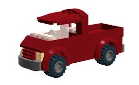 LEGO IDEAS - Product Ideas - Lego City-Scaled Pickup Truck