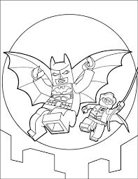 LEGO Batman Coloring Page Color Online Print