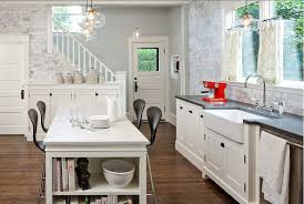 antique white kitchen cabinets and black granite countertops and