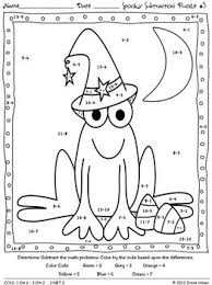 Halloween Multiplication Worksheets Coloring by 44 Best Printable Activities Images On Pinterest Coloring